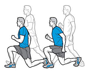 walking-lunges