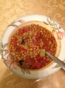 Easy, Tasty Lenil Soup.